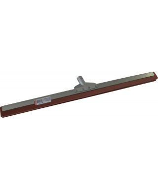 RACLETTE METAL 55CM MOUSSE ROUGE DOUILLE METAL INCLINEE