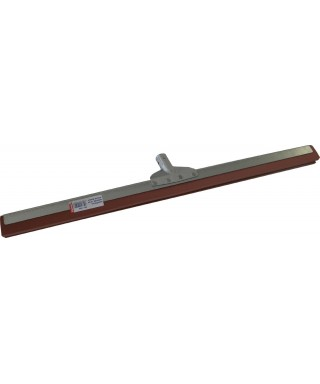 RACLETTE METAL 75CM MOUSSE ROUGE DOUILLE METAL INCLINEE