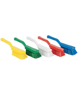 BROSSE LAVAGE MANCHE COURT ALIMENTAIRE JAUNE INTEGRAL