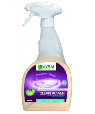 DETACHANT MULTI USAGES CLEAN POWER LE VRAI 750ML