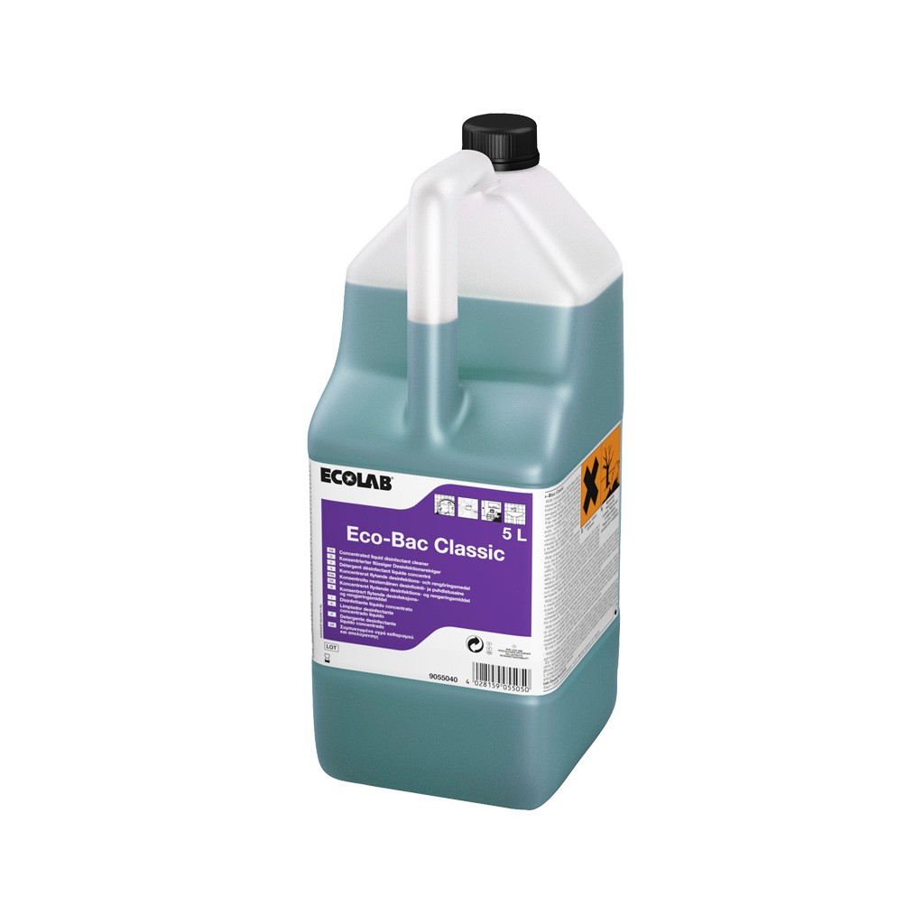 7aad2944d06 DETERGENT DESINFECTANT SURFACES ECO BAC CLASSIC 10L - NegoProHygiene