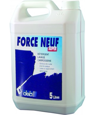DETERGENT VEHICULE FORCE NEUF SUPER 5L