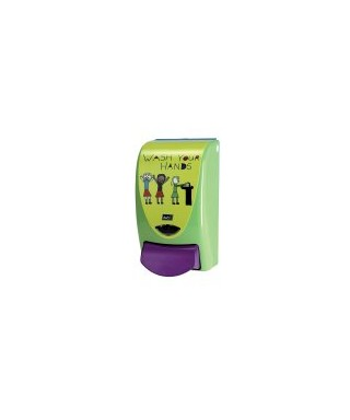 DISTRIBUTEUR SAVON KIDS WASH YOUR HANDS ENFANCE 1L