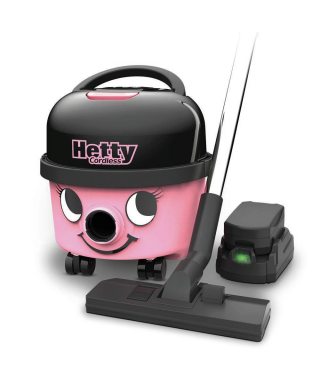 ASPIRATEUR POUSSIERE NUMATIC HETTY CORDLESS HEB160 A BATTERIES