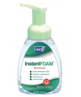 MOUSSE DESINFECTANTE MAINS INSTANTFOAM COMPLETE 250ML CX6