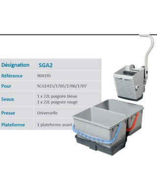 KIT DE LAVAGE SGA2 NUMATIC