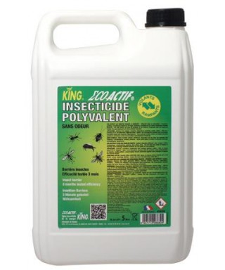 INSECTICIDE POLYVALENT BIDON 5L KING ECO ACTIF