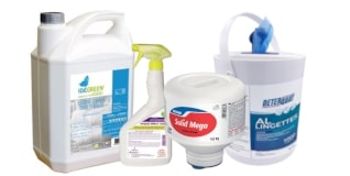 DETERGENTS & DESINFECTANTS